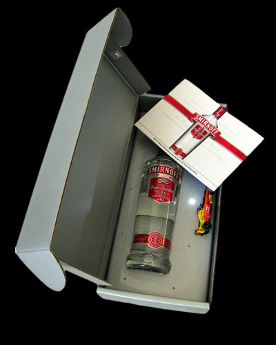 Smirnoff Vodka Invitation Box